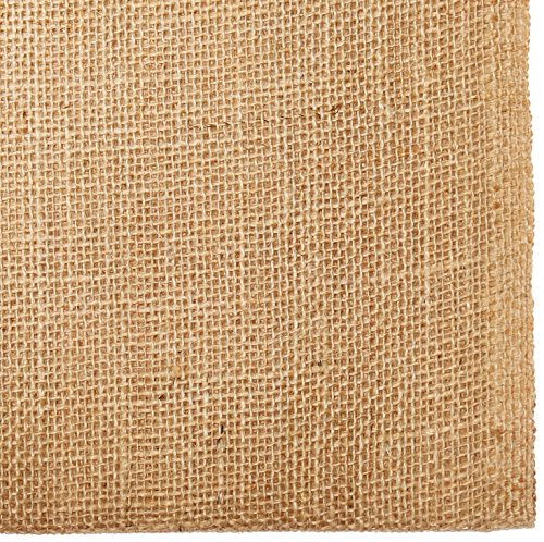 AK TRADING CO. BUR40-5YDS Burlap Natural, X 5 Yards Long, 40' Wide