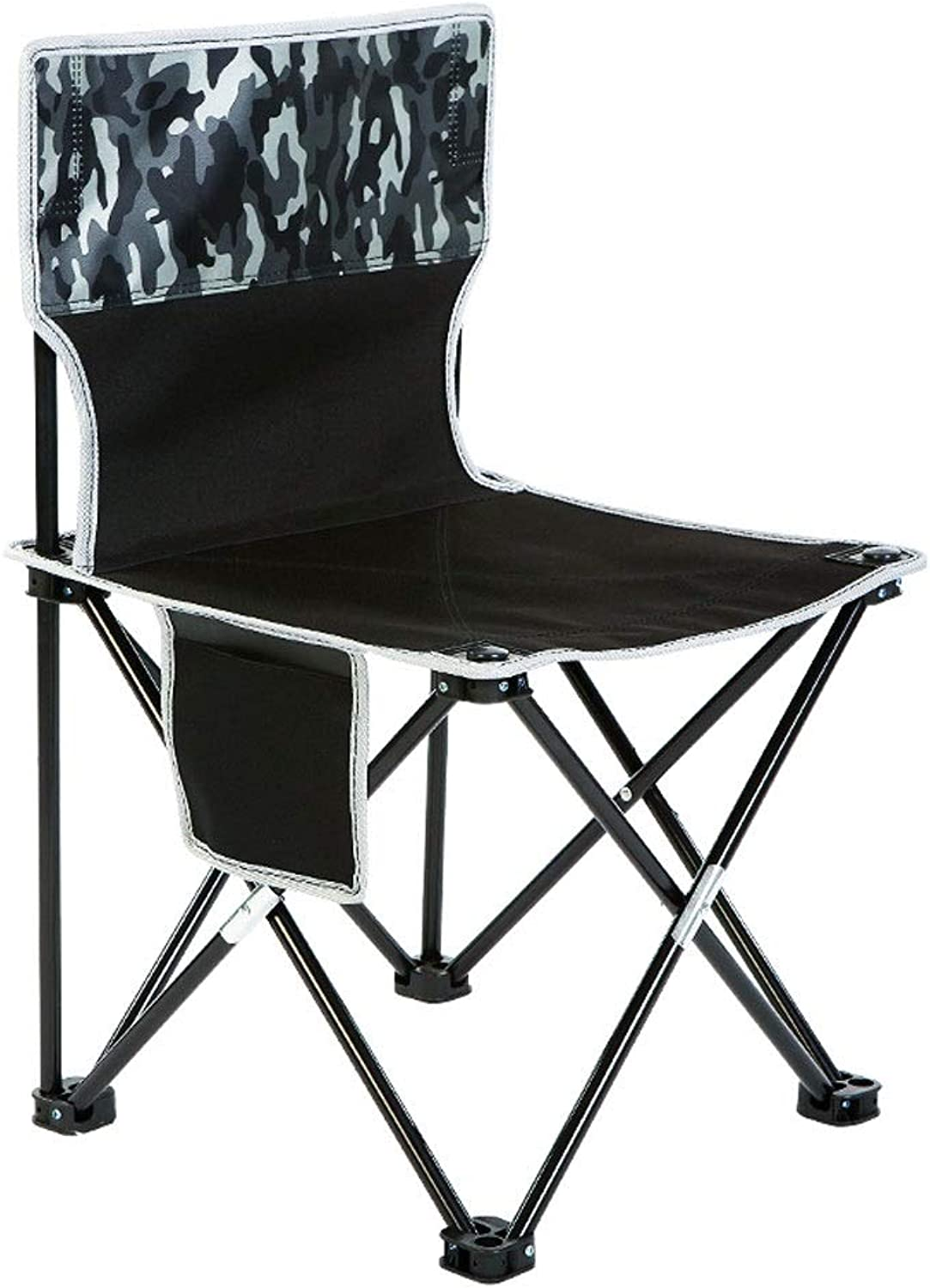 Camping Chair Backrest Outdoor Portable Folding Chair NonSlip Fishing Stool Sketch Travel Beach Chair Lined up Small Bench Camping Barbecue Chair Oxford Cloth Washable Folding Chair