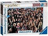 Ravensburger Puzzle 1000 Teile Harry Potter - Über 70 Charaktere aus der zauberhaften Welt von Hogwarts auf einem Puzzle für Erwachsene und Kinder ab 14 Jahren