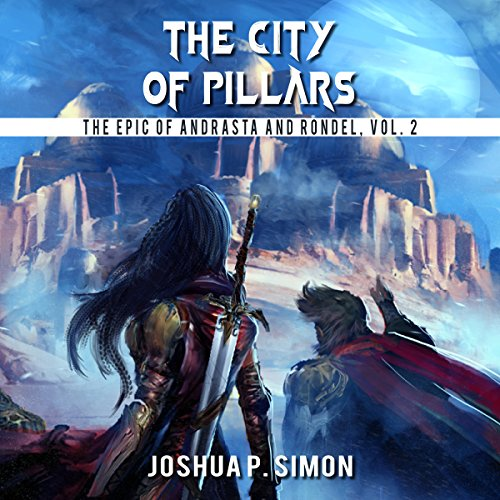 The City of Pillars audiobook cover art