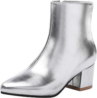 Botas Para MujerY Zapatos esPlateado Complementos Amazon I6vfybgY7