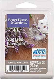 Better Homes and Gardens Sugared Lavender Twist Wax Cubes