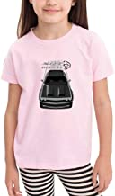 Graphic Cotton Kids Chal-lenger Hel-lcat Red-Eye - SIL-ver & Matt Tee Pink