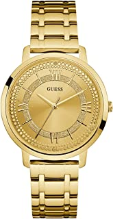 GUESS Women's Stainless Steel Glitz Casual Watch