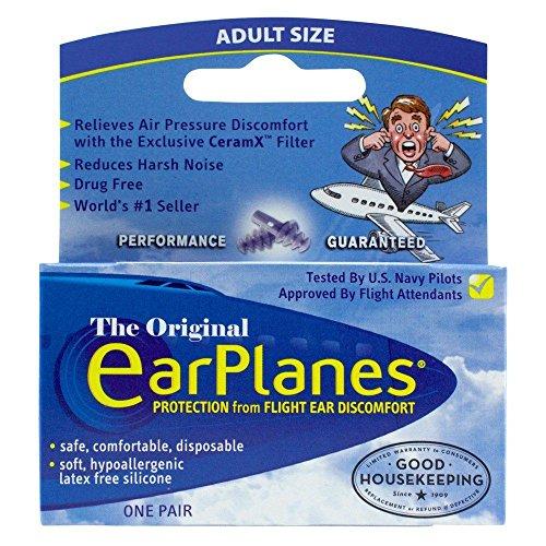 Tapones de oídos para avión de Cirrus Healthcare