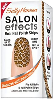 Sally Hansen Salon Effect Real Nail Polish Strips Kitty Kitty (2 Pack / 32 Strips)