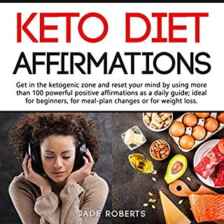 Keto Diet Affirmations audiobook cover art