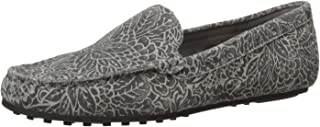 Aerosoles Women's Driving Style Loafer, Grey Combo, 5.5 M US