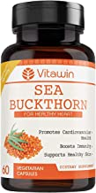 RR Group Vitawin Sea Buckthorn Capsules (Pack of 60); 500 mg; Ultimate Health & Nutrition Supplements for Healthy Heart & ...