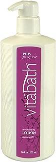 Vitabath Lotion, Moisturizing, Plus For Dry Skin, 20-Ounces (Pack of 3)