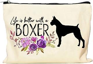 Boxer Life is Better Makeup Bag