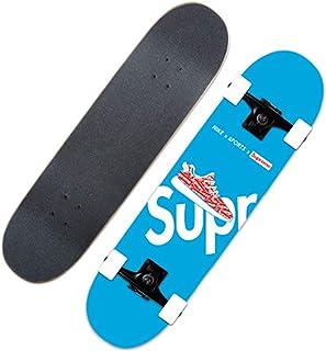 ألواح تزلج احترافية مقاس 31 × 8 بوصة للمبتدئين ، وألواح تزلج كروزر كاملة من 7 طبقات من القيقب ، لوحة,Ns1057