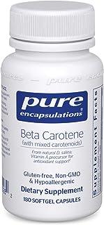 Pure Encapsulations - Beta Carotene (with Mixed Carotenoids) - Hypoallergenic Antioxidant and Vitamin A Precursor Suppleme...