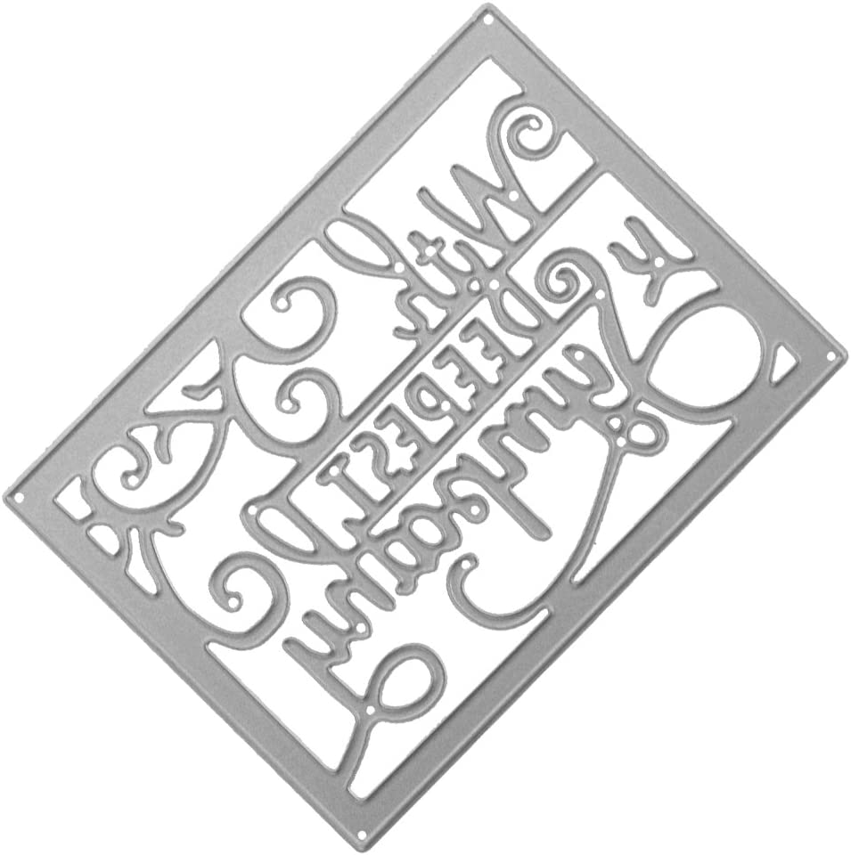 Harilla Limited time trial price with The Deepest Sympathy of Max 76% OFF Dies DIY Stencil Cutting