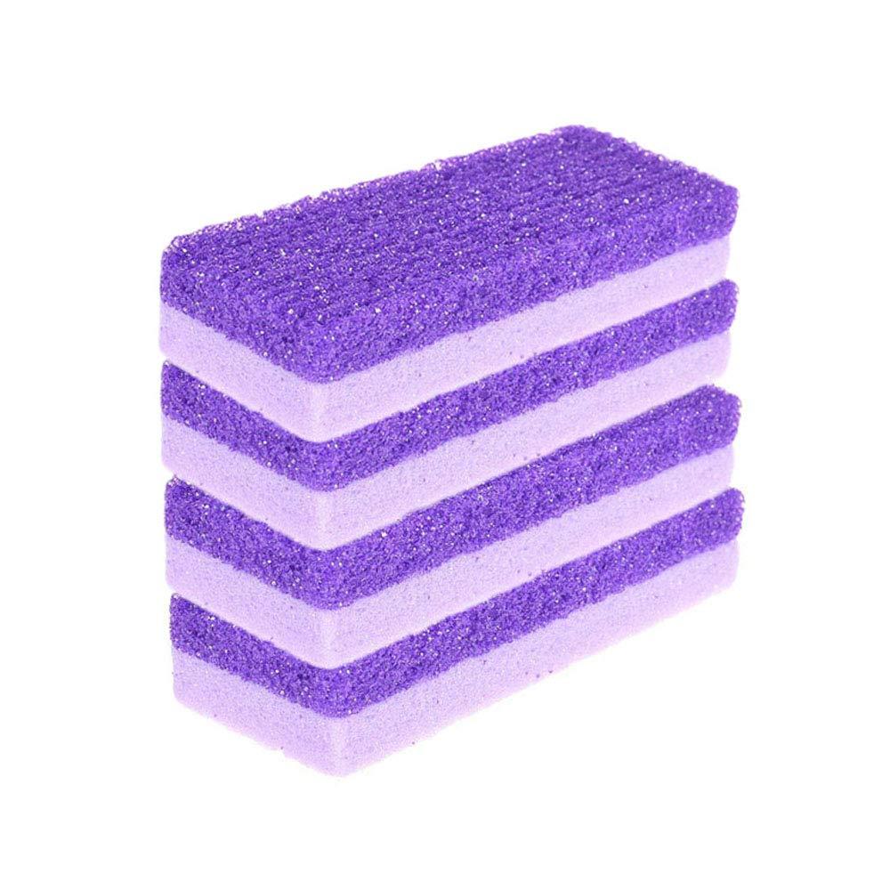 YAIKOAI 5 Pack Purple Pumice Stone Feet Rem Sponge Minneapolis Mall 2-in-1 Callus Discount is also underway