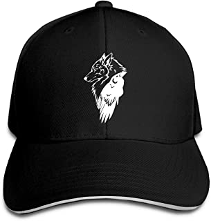 Viking Norse Wolf Raven Rune Protection Unisex Hats Trucker Hats Dad Baseball Hats Driver Cap