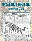 Mosasaurs dinosaur - Coloring Book