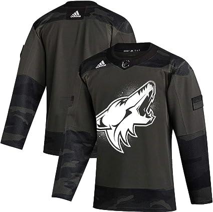 adidas Arizona Coyotes Men's Veteran's Day Camo Authentic Pro Practice Jersey
