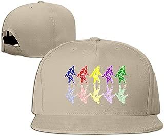 Colorful Bigfoot Unisex Adult Retro Trucker Hat