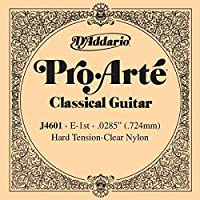 CUERDA SUELTA GUITARRA CLASICA - Dエaddario (J/4601) Pro/Arte Fuerte (Minimo 5 Cuerdas) 1ェ