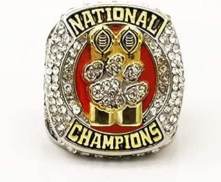 YIYICOOL Clemson Tigers NCAA 2018-2019 Championship Ring Size 8-14