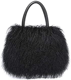 Wirklich luxuriöse Damen-Handtasche aus Wolle