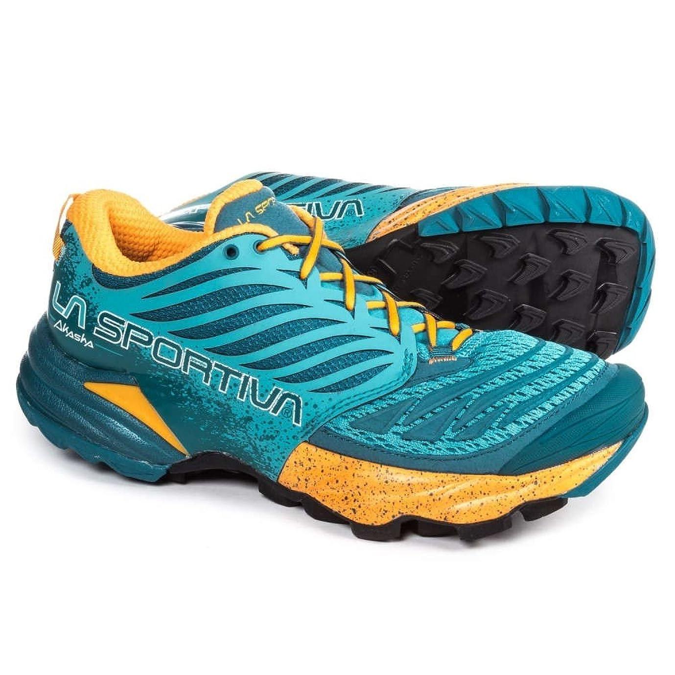 六すでにプロット(ラスポルティバ) La Sportiva レディース ランニング?ウォーキング シューズ?靴 Akasha Trail Running Shoes [並行輸入品]