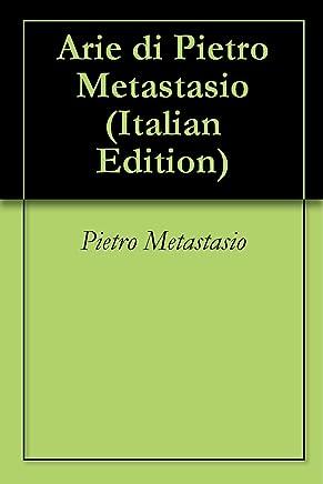 Arie di Pietro Metastasio