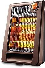 XHHWZB Pequeño calentador del calentador solar Inicio de ahorro de energía eléctrica Calefacción Mini escritorio Asar estufa pequeña de ahorro de energía de los hogares de cuarzo de tubo de dos veloci