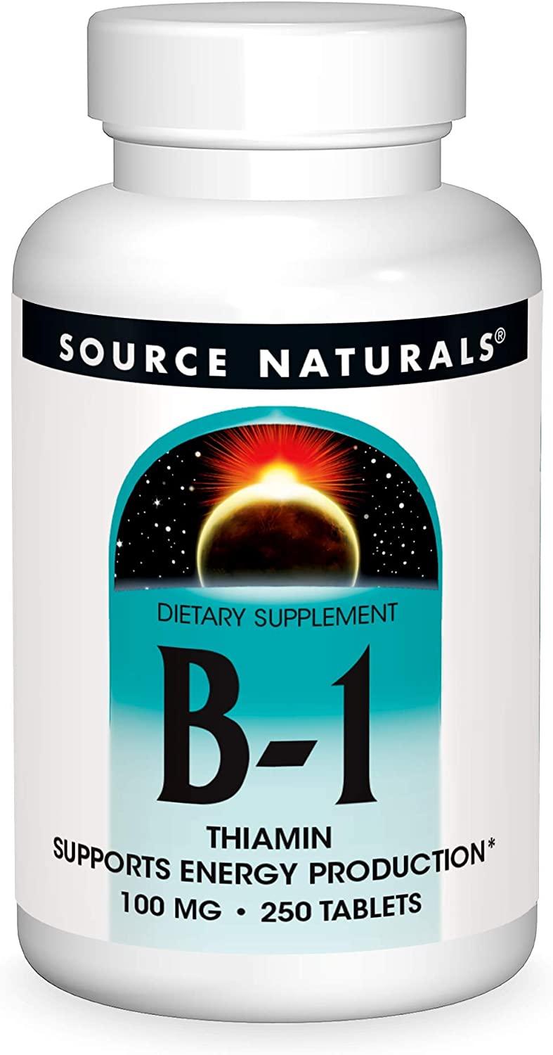 Source Naturals Vitamin B-1 Thiamin 100 Energy Supports Produ It is very Tucson Mall popular mg