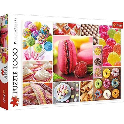 Brandsseller Puzzle - Candy Collage - 1000 Teile