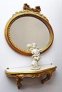 ARREDO SELLI Juego de Muebles de Espejo y Consola