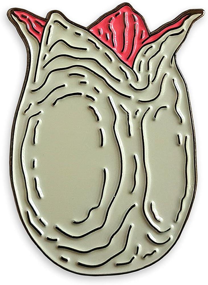 Pinsanity Alien Egg Pin shop Enamel Horror New life