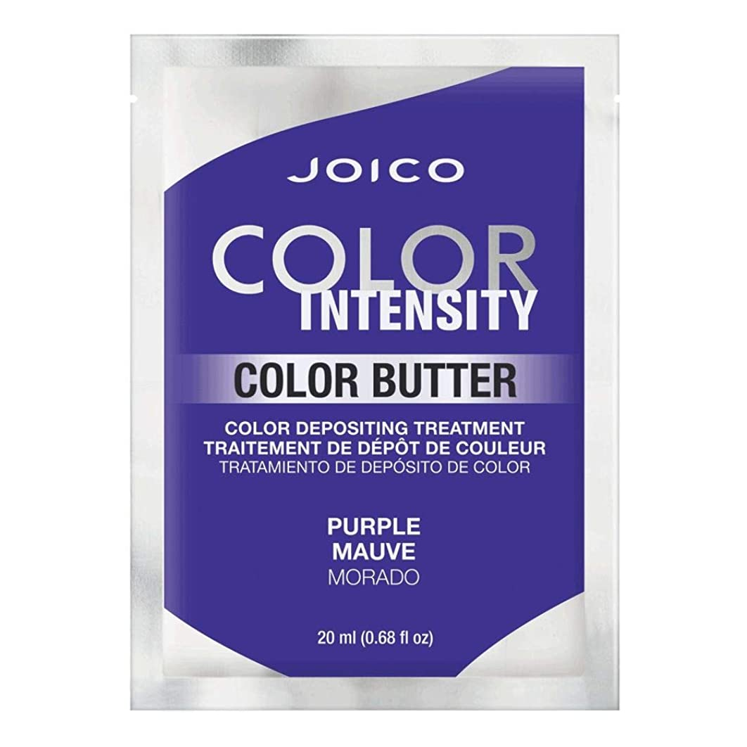 メロドラマ生産性放置Joico 色強度色バター - PURPLE 0.68オンス 紫の