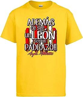 Diver Bebé Camiseta además de ser un león Soy un padrazo del Athletic