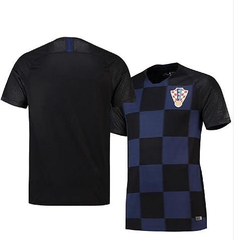 Shi18sport 2018 Uniforme da Calcio Croazia Away Adult Junior Suit Suit Team Uniform Fans Souvenir