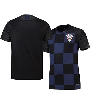 Sykdybz 2018 Football Uniform Croatia Away Adult Children Teenager Jersey Suit Training Team Clothing Fans Souvenir
