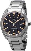 Omega 2220.10.40.20.01.001 Seamaster Railmaster - Reloj automático para Hombre (Acero Inoxidable)
