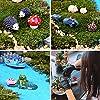 Fairy Garden Ornaments Kit, Miniature Fairy Garden Accessories Set, Miniature Garden Houses, Miniature Figurines. Micro Landscape Flower Pots Ornaments for DIY Fairy Garden Dollhouse Decoration #4