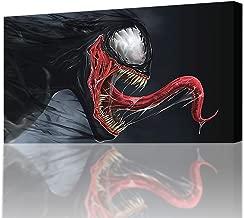 Best venom canvas art Reviews