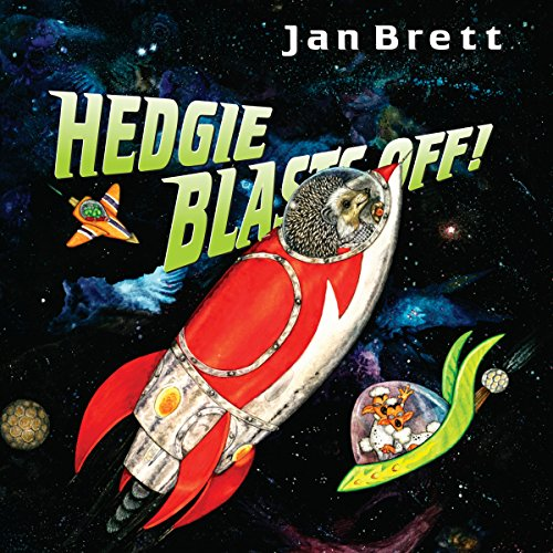Hedgie Blasts Off! audiobook cover art