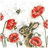 Bothy Threads - Kit per punto croce, motivo: Let It Bee
