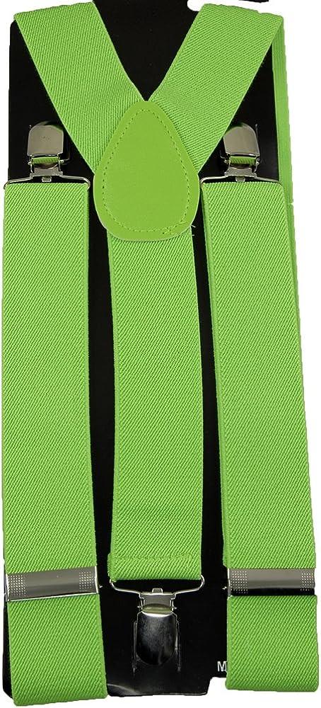 Men's Unisex Clip-on Braces Elastic Wide