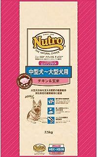 ニュートロジャパン ナチュラルチョイス [中型犬-大型犬用] 7歳以上エイジングケア チキン&玄米 7.5kg