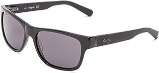 Kenneth Cole Men's Wayfarer Sunglasses Shiny Black KC7122 01A