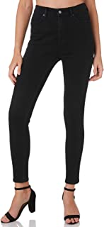 Riders By Lee Women's Womens Hi Rider Curve Jean Cotton Polyester Rayon Black
