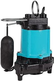 Sump Pump, Vertical Switch, 1/2 HP, 115V