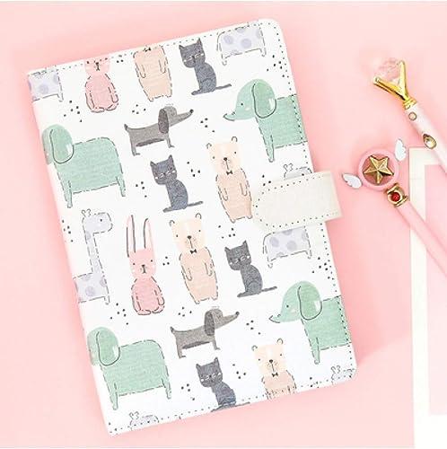 ofreciendo 100% ZXSH Cuaderno Cuaderno Cuaderno Cuaderno De Dibujos Animados Para Colorar De Kawaii Cuaderno Para Colorar Pintado A Mano Planificador De Tela Cuaderno Para El Regalo De Los Niños, Animales  Nuevos productos de artículos novedosos.