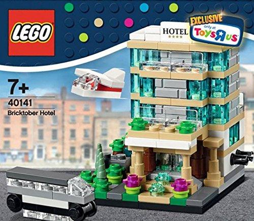 LEGO Bricktober TRU Mini Modulars 2015 Train Station Bakery Hotel Set 4 Sealed