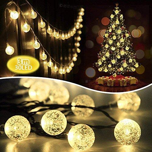Mr.Twinklelight 4.5m 30 LED Guirlande Lumineuse Guirlande Solaire Extérieure